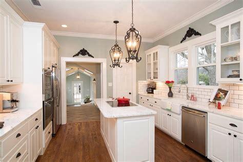 41231 fixer kitchen paint colors white kitchen narrow kitchen wall color hgtv fixer
