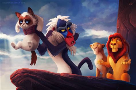 Grumpy Disney By Tsao Shin Spoof On Grumpy Cat