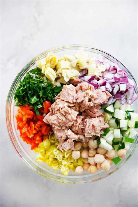 Mediterranean Tuna Salad With No Mayo!  Lexi's Clean Kitchen