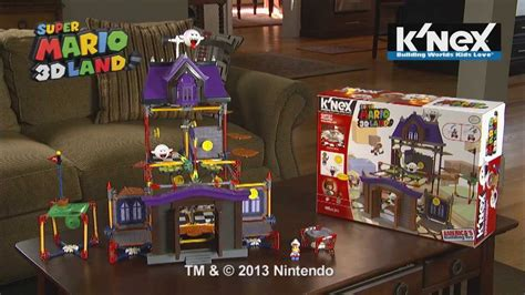 Super Mario Ghost House Building Set Youtube