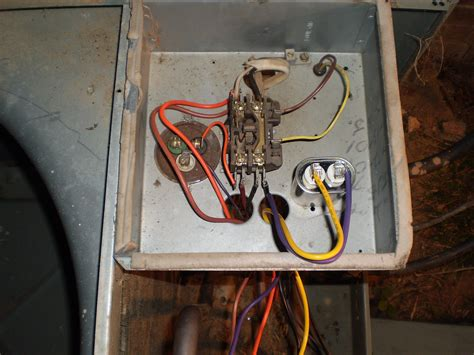 wire   protech   replacement motor  capacitor   rheem raka jaz