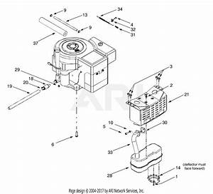 Mtd 13au604h401  2001  Parts Diagram For Engine