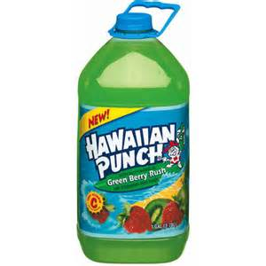 Hawaiian Punch Greenberry Rush