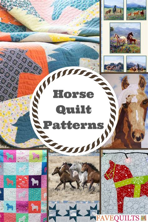 saddle   horse quilt patterns favequiltscom