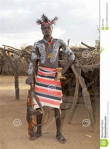 African Tribal Man Editorial Stock Photo - Image: 30377603