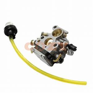 New Carburetor Carb Primer Bulb And Fuel Line For Husqvarna 235 235e 236 240 240e Mower 545 07
