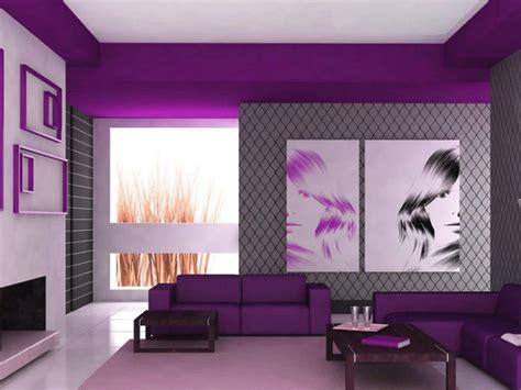 gambar  warna cat rumah minimalis nuansa ungu keren abis