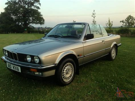 1987 Bmw E30 by 1987 E30 Bmw 325i Convertible