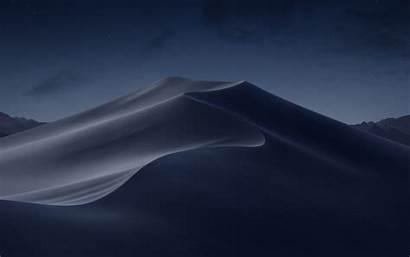 Mojave Mac Desert Night Macos Apple Macbook