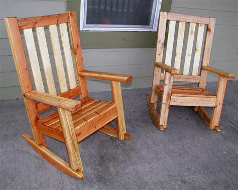 two u bild plans built porch rocking chairs by scooter