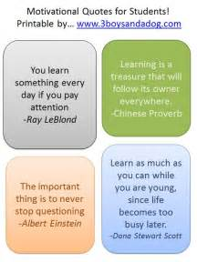 Back to School Quotes for Students