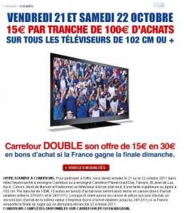 Promo Castorama 15 Par Tranche De 100 : carrefour 15 euros de bon d 39 achat par tranche de 100 sur ~ Dailycaller-alerts.com Idées de Décoration