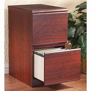 2 - Drawer File Cabinet  Cherry Finish
