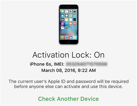 iphone activation lock how to check activation lock status of your iphone or