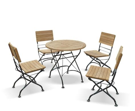 bistro table and 4 chairs garden round bistro table and 4 chairs