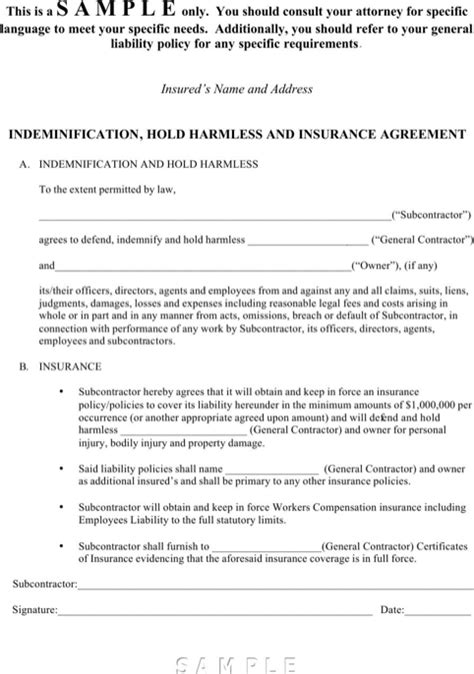 how to do a cover letter for a resume hold harmless agreement sle templates forms 7540