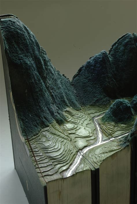 carved book landscapes  guy laramee colossal