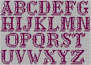 found on friendship braceletsnet images frompo With beading alphabet letters