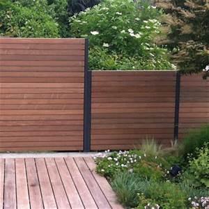 Sichtschutzelemente Aus Holz : sichtschutzzaun aus holz und metall ~ Sanjose-hotels-ca.com Haus und Dekorationen