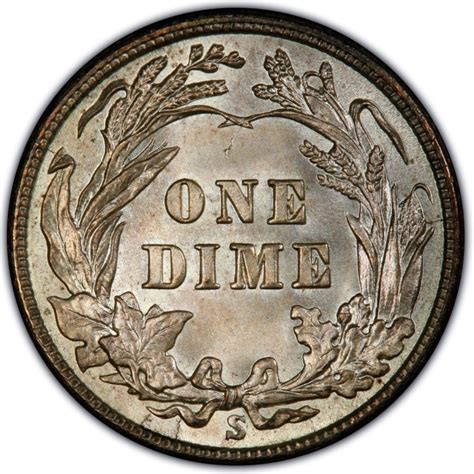 barber dime 1914 barber dime values and prices past sales coinvalues com