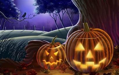 Halloween Happy Backgrounds Desktop Background Fall Theme