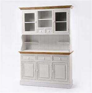 Buffet Blanc Maison Du Monde : buffet de cuisine bois blanc ~ Teatrodelosmanantiales.com Idées de Décoration