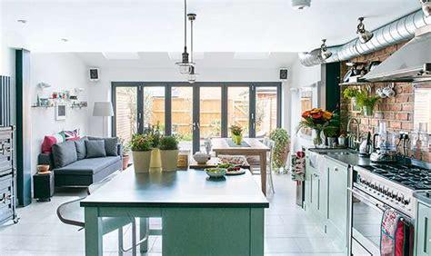 loft kitchen island new york loft style kitchen extension real homes 3840