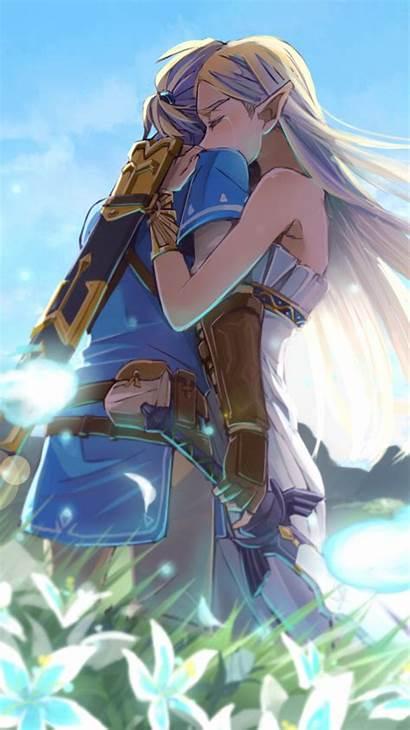 Zelda Legend Breath Wild Artwork Romantic Link