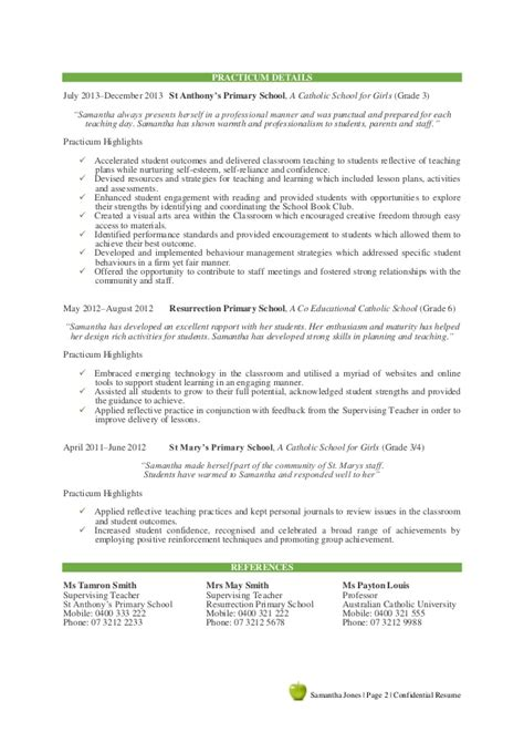 Practicum Resume by 100 Resume For Practicum 11 Resumes Free Sle