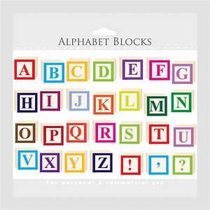 alphabet clipart letter blocks clip art letterblocks With individual wooden letter blocks