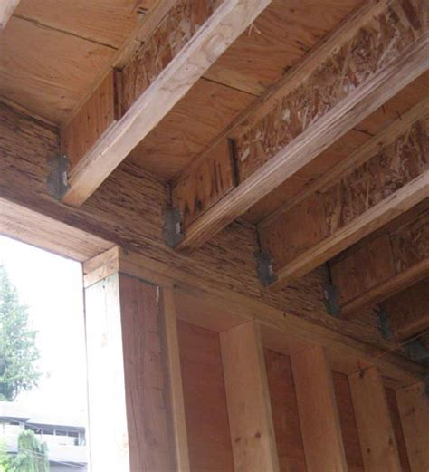 structure wood beam connection home building  vancouver