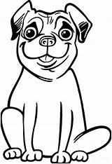 Coloring Pug Boxer Dog Silly Pugs Printables Animal Malvorlagen Mops Dolphin Ausdrucke Smile Bibaxu Popular Unicorn sketch template