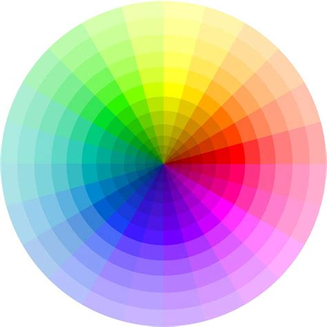 color wheel photoshop i finally got around to a large multi wedge color