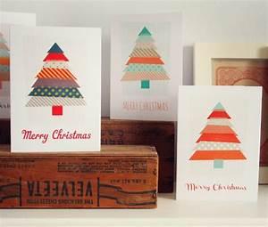 Weihnachtsbaum Selber Basteln : weihnachtskarten selber basteln 55 originelle ideen ~ Lizthompson.info Haus und Dekorationen