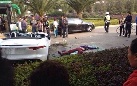 Chinese Police Leave Dead Street Racer's Body In The Road