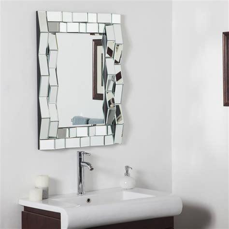 decor wonderland ssd092 iso modern bathroom mirror lowe