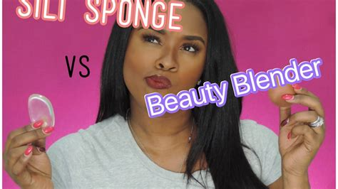 silicone sponge  beauty blender youtube