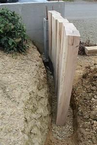 Faire Un Mur De Cloture : construire un muret construire un muret pas cher ~ Premium-room.com Idées de Décoration