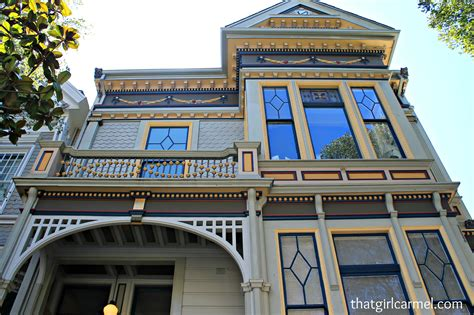 Victorian Home Walk In San Francisco Thatgirlcarmel
