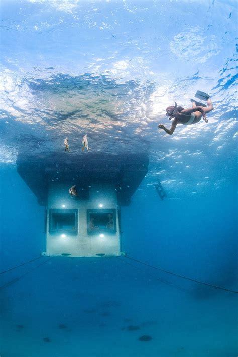 incredible   zanzibars  underwater hotel room conde nast traveler