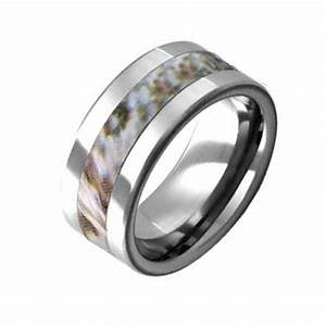 1000 images about snow camo rings on pinterest camo for Most durable wedding rings