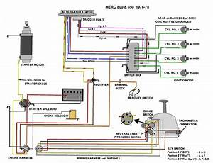 Mercury 50 Hp 4cyl Wiring Diagram