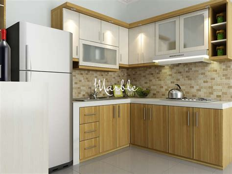 Kitchen Set Classy Interior Small Modern Cool #5559