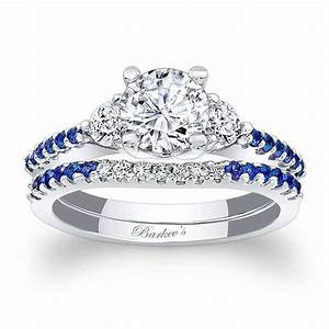 Barkev39s blue sapphire engagement ring 7539sbs barkev39s for Sapphire engagement ring and wedding band set