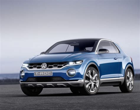 Volkswagen T-Roc Concept - Freshness Mag