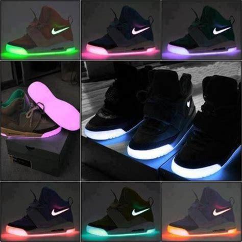 light up nike shoes neon pink purple nike black light nike shoes