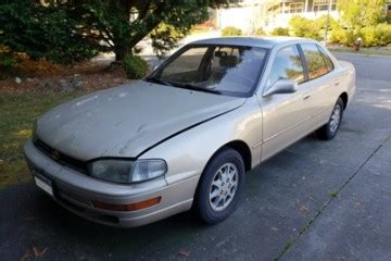 how to sell used cars 1994 toyota camry free book repair manuals toyota camry 1994 for sale in bellingham wa salvage cars