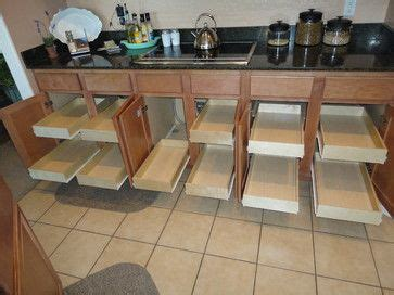 drawer kitchen cabinets 25 best ideas about slide out shelves on 3457