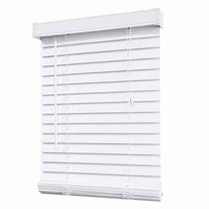 Home Decorators Collection 2 Inch Faux Wood Blind, White