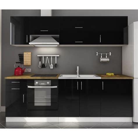 meuble cuisine noir laqué meuble bas de cuisine noir laqué cuisine idées de